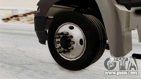 Mack Vision Trailer v2 para GTA San Andreas vista posterior izquierda