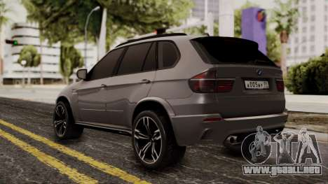 BMW X5M para GTA San Andreas left