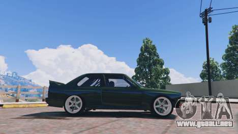 GTA 5 1991 BMW E30 Drift Edition v1.1 vista lateral izquierda