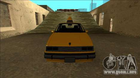 Willard Taxi para la vista superior GTA San Andreas