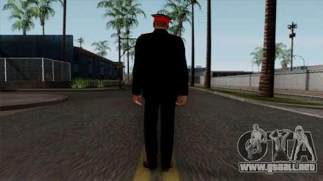 Vice-Sargento Kazan Suvorov de la Escuela milita para GTA San Andreas tercera pantalla