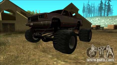 New Yosemite v2 Monster para GTA San Andreas left