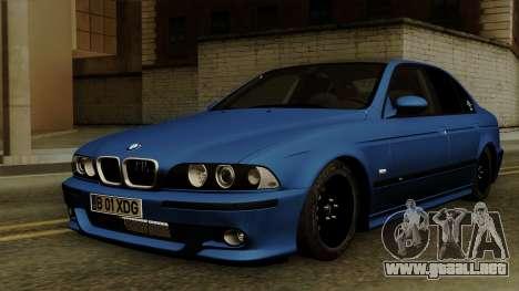 BMW M5 E39 Bucharest para GTA San Andreas
