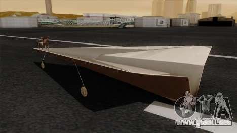 Avión de papel para GTA San Andreas left