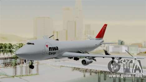 Boeing 747 Northwest Cargo para GTA San Andreas