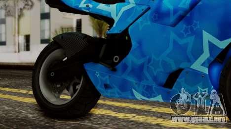 Bati VIP Star Motorcycle para la visión correcta GTA San Andreas