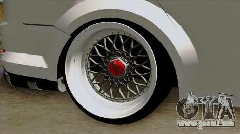 Ford Mondeo para GTA San Andreas vista posterior izquierda