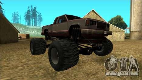New Yosemite v2 Monster para GTA San Andreas