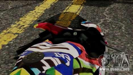 Bati Motorcycle JDM Edition para la visión correcta GTA San Andreas