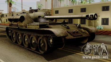 SU-101 122mm from World of Tanks para GTA San Andreas