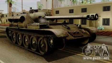SU-101 122mm from World of Tanks para GTA San Andreas