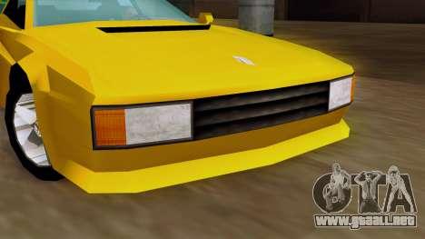 Cheetah from Vice City Stories IVF para la visión correcta GTA San Andreas