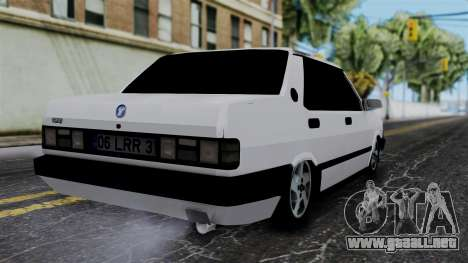LV Copcar Civil para GTA San Andreas left