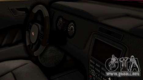 GTA 5 Vapid Dominator IVF para la visión correcta GTA San Andreas