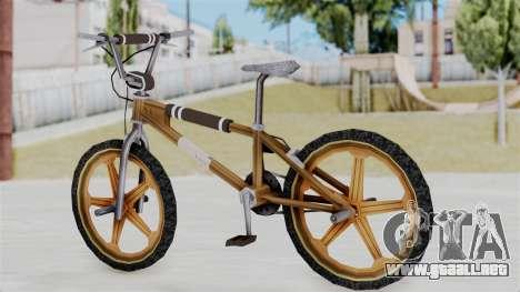 Retro BMX from Bully para GTA San Andreas left