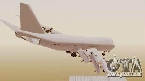 Boeing 747 Template para GTA San Andreas left