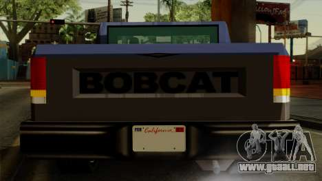 Bobcat from Vice City Stories IVF para la vista superior GTA San Andreas