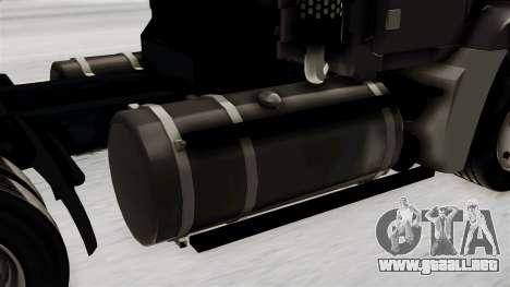 Mack Vision Trailer v2 para GTA San Andreas vista hacia atrás
