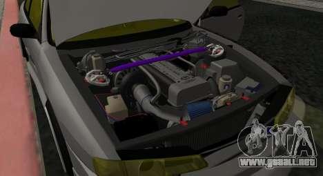 Nissan Silvia S14 JDM v0.1 para GTA San Andreas vista hacia atrás