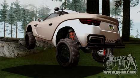 GTA 5 Coil Brawler IVF para GTA San Andreas left