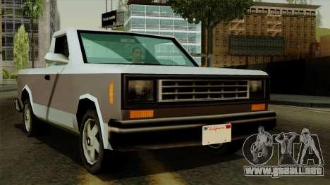 Bobcat from Vice City Stories para GTA San Andreas