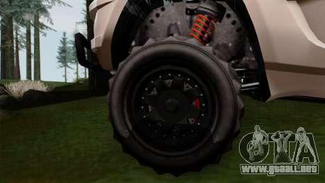 GTA 5 Coil Brawler IVF para GTA San Andreas vista posterior izquierda