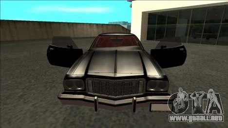Ford Gran Torino Drift para visión interna GTA San Andreas