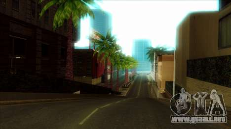 ENB Series Visión Clara v1.0 para GTA San Andreas sexta pantalla