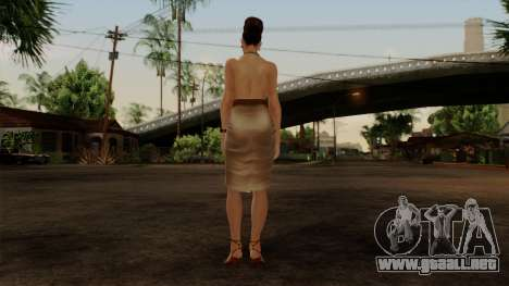 RE5 Excella Gione para GTA San Andreas tercera pantalla