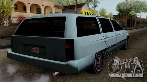 Taxi Solair para GTA San Andreas left
