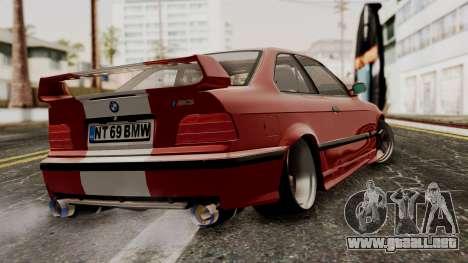 BMW M3 E36 Strike para GTA San Andreas left