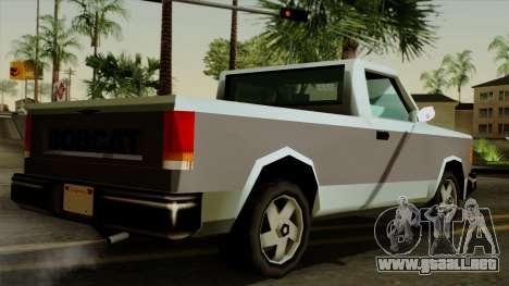 Bobcat from Vice City Stories para GTA San Andreas left