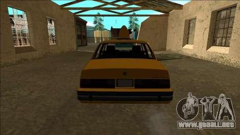 Willard Taxi para la visión correcta GTA San Andreas