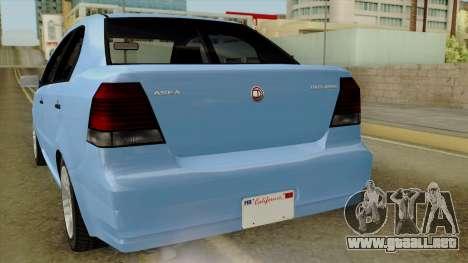 GTA 5 Asea DeClasse v2 para la visión correcta GTA San Andreas