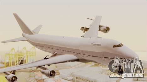 Boeing 747 Template para GTA San Andreas