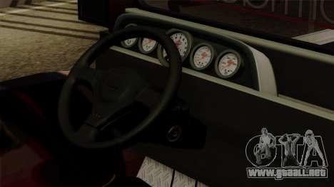 Auto Pormado - Gabshop Custom Jeepney para la visión correcta GTA San Andreas