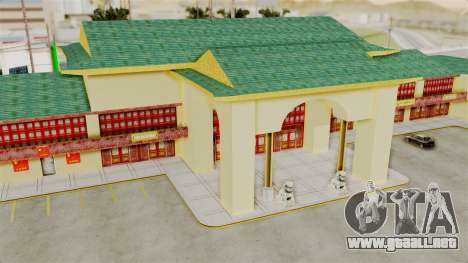 LV China Mall v2 para GTA San Andreas quinta pantalla
