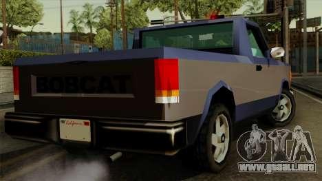 Bobcat from Vice City Stories IVF para GTA San Andreas left