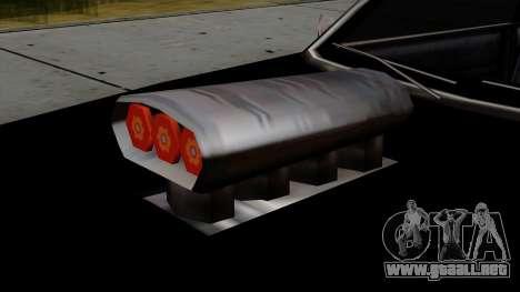 Muscle-Sabre Beta v1 para la visión correcta GTA San Andreas