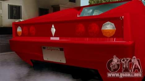 Cheetah from Vice City Stories para la visión correcta GTA San Andreas