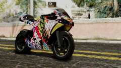 Bati Motorcycle JDM Edition para GTA San Andreas