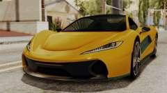 GTA 5 Progen T20 IVF para GTA San Andreas