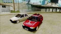 Fiat Palio EDX Turbo Rendimiento para GTA San Andreas