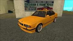 BMW M5 E34 Taxi para GTA San Andreas