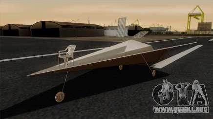 Avión de papel para GTA San Andreas