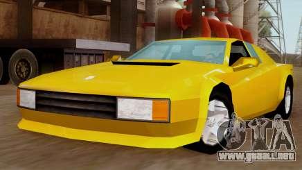 Cheetah from Vice City Stories IVF para GTA San Andreas