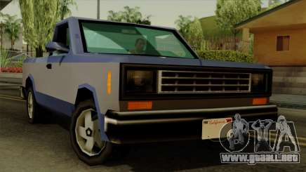 Bobcat from Vice City Stories IVF para GTA San Andreas