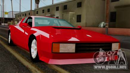 Cheetah from Vice City Stories para GTA San Andreas
