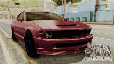 GTA 5 Vapid Dominator IVF para GTA San Andreas