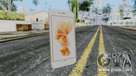 iPhone 6S Rose Gold para GTA San Andreas
